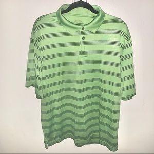 Large Premium Dri- Fit Mens Golf Shirt Polo S.Slv